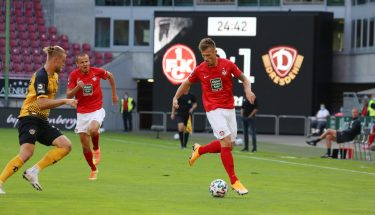 Marvin Pourié im Heimspiel gegen Dynamo Dresden