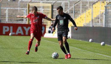 Anas Bakhat im Auswärtsspiel bei Türkgücü München