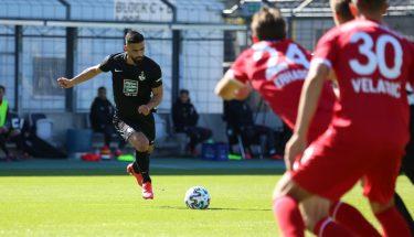 Hikmet Ciftci im Auswärtsspiel bei Türkgücü München
