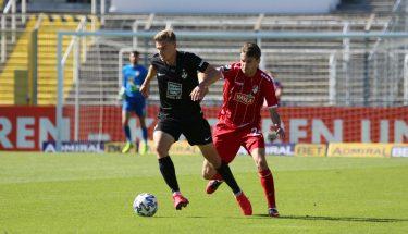Elias Huth im Auswärtsspiel bei Türkgücü München