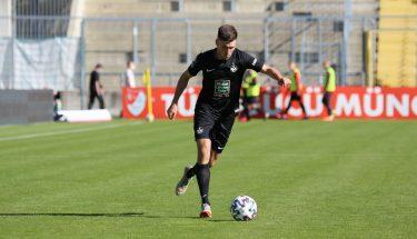 Dominik Schad im Auswärtsspiel bei Türkgücü München