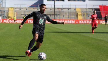 Mohamed Morabet im Auswärtsspiel bei Türkgücü München
