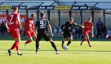 Simon Skarlatidis im Auswärtsspiel bei Türkgücü München