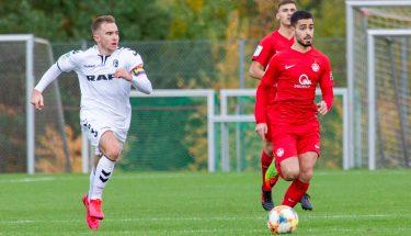 Ibrahim Karakus im Heimspiel der U19 gegen den SC Freiburg