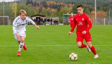Angelos Stavridis im Heimspiel der U19 gegen den SC Freiburg