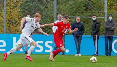 Neal Gibs im Heimspiel der U19 gegen den SC Freiburg