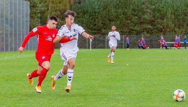 Shawn Blum im Heimspiel der U19 gegen den SC Freiburg
