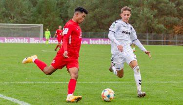 Shakil Diallo im Heimspiel der U19 gegen den SC Freiburg