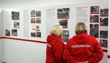 Eröffnung der Fotoausstellung zum 100. Geburtstag vom Fritz Walter im FCK-Museum