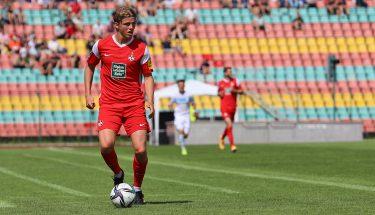 Felix Götze im Auswärtsspiel bei Viktoria Berlin