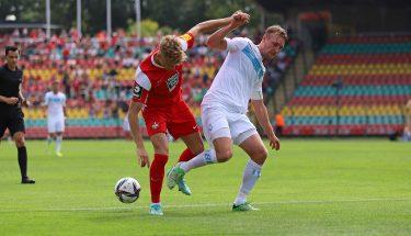 Philipp Hercher im Auswärtsspiel bei Viktoria Berlin
