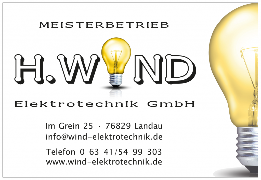 Logo von H.Wind Elektrotechnik