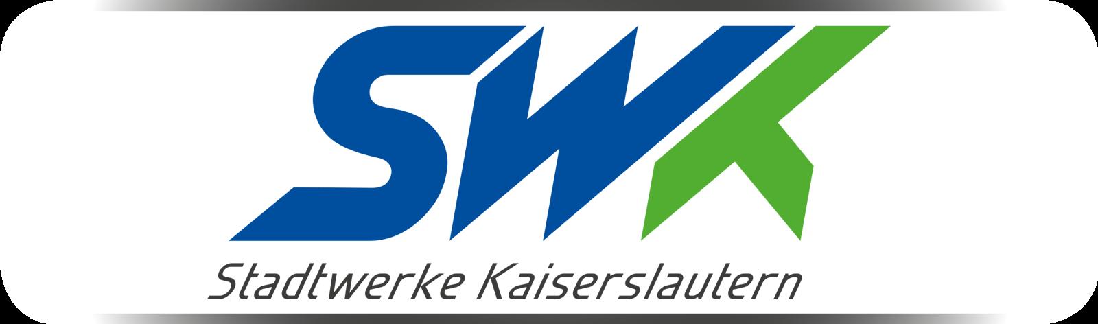 Logo des TEUFELSBANDEN-Partners SWK Stadtwerke Kaiserslautern