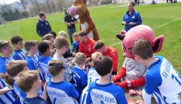 Rheinpfalz-Training mit Timmy Thiele und Christian Kühlwetter