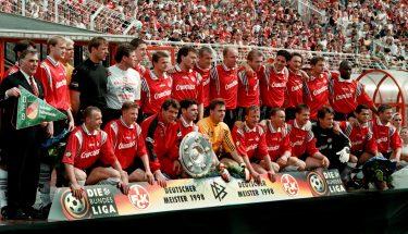 Der FCK wurde 1998 Deutscher Meister